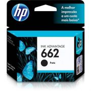 Cartucho Hp 662 Preto 2ml Original Impressora Hp 3516 1516 2646