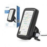 CASE PERMEAVEL DE MOTO PARA SMARTPHONE COM CARREGADOR USB P/ ATE 6,3 POLEGADAS GUIDAO EXBOM SP-CA24L