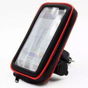 CASE PERMEAVEL DE MOTO PARA SMARTPHONE COM CARREGADOR USB P/ ATE 6,3 POLEGADAS GUIDAO EXBOM SP-CA34L