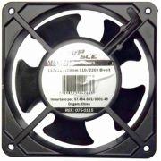 Cooler Chip SCE 120x120x38mm Bivolt (110/220) sem Rolamento 075-0115