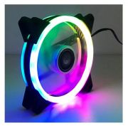 Cooler Fan Dupla Face 120m Com 18 Leds Rgb Dex Dx-12w