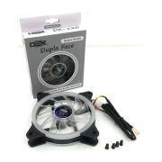 Cooler Fan Dupla Face 120mm C/ 30 Leds brancos Dex Dx-12d