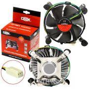 Cooler P/procesador Universal P/ intel 775/1155/1150 E Amd Dx-7115