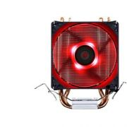 Cooler Universal Cpu DUPLO RED Intel Amd 1150 AM3 FM DX-9100