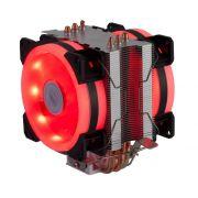 Cooler Universal dupla face Fan Duplo Rgb Intel/amd Tdp 130w DX-9107D