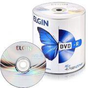 DVD-R ELGIN 8x  120min pack com 100un com Logo