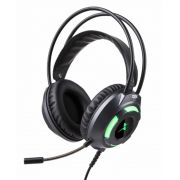 Fone Headset Gamer P3 C/led Usb + Adaptador Y P2 Ps4 pc notebook DF-80 VERDE