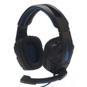 Fone Usb Headset Gamer 7.1 Surround Iluminado Cabo 2,2mts df-96