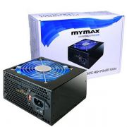 Fonte ATX 500W 24 Pinos 2 Sata High Power Mymax Led Azul (MPSU/FP500)