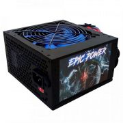 FONTE ATX EPIC POWER 550W REAL MODELO EP-C550W 20+4p 1x12v 1xPCIEX 4x SATA 2xIDE C/ CABO BOX