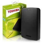 HD EXTERNO TOSHIBA 2TB CANVIO BASICS PRETO USB 3.0