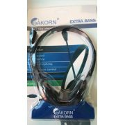 HEADPHONE PARA PC (P2) COM MIC FIO 1.8M L-900 AKORN