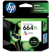 HP F6V30AB 664XL CARTUCHO DE TINTA COLOR(8,0 ml)@