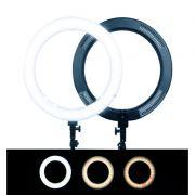 ILUMINADOR RING LIGTH 19 POLEGADAS 320 LEDS 2700K À 5500K EXBOM -R-60X-BXD-30SL-19 -03056