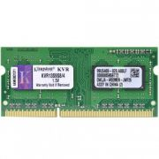 Memória de Notebook Kingston KVR13S9S8/4 4GB DDR3 1333 Mhz