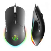 MOUSE GAMER USB PRETO C/ FIO / LED RGB C/ 800 A 3200 DPI SHINKA - MO-X6