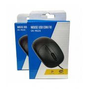 MOUSE OPTICO PRETO CK-MS35BK USB COLETEK