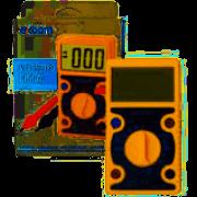 Multímetro Digital Md-160 Exbom Teste De Tensão Junção Hfe