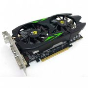 PLACA DE VIDEO PCI NVIDIA GEFORCE 128 BITS DDR5 - DEX - GT-550TI - PV-05