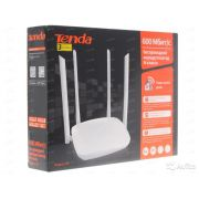 ROTEADOR TENDA F9 600MBPS WIRELESS C/ 4 ANTENAS 6 DBI BOX I