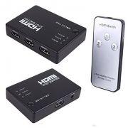 SWITCH HDMI 3 ENTRADA 1 SAIDA 4K COM REMOTE CONTROLE