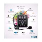 Telefone Elgin Headset com Base Discadora HST-6000 Preto