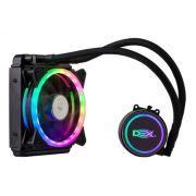Water Cooler C/ Led Rgb 120mm P/ Processador Amd / Intel DX-121A