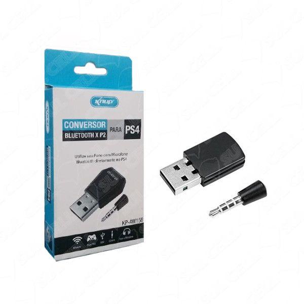 Adaptador Para Fone De Ouvido Sem Fio Bluetooth Para Ps4 Knup KP-AW158