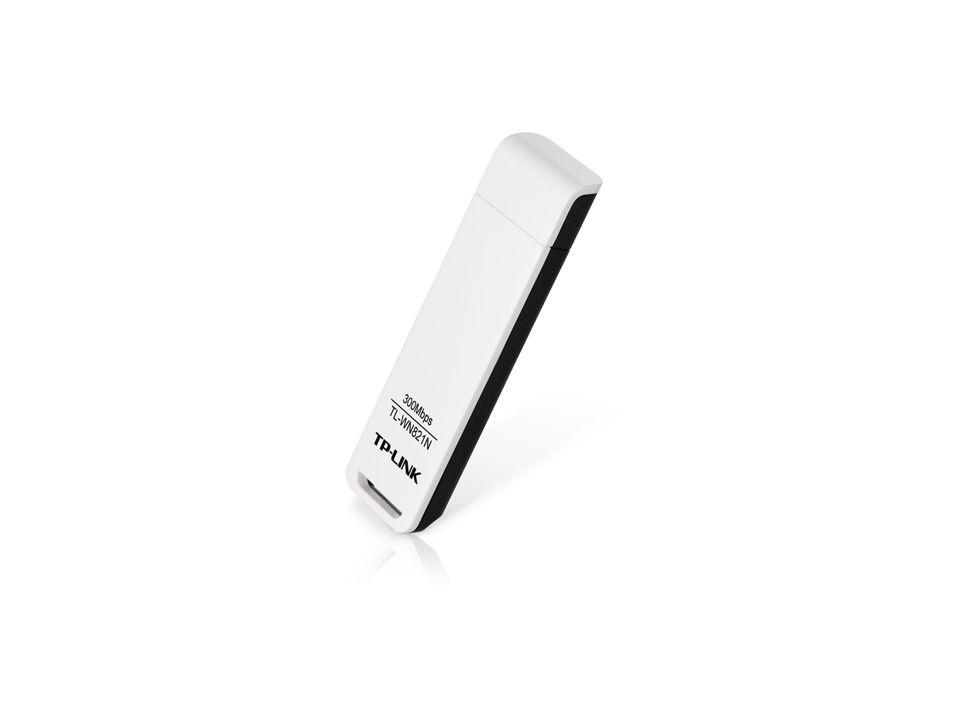 ADAPTADOR USB WIRELESS N 300 Mbps TL-WN821N TP-LINK@