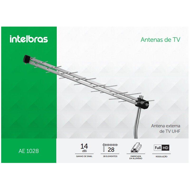 Antena UHF Externa Intelbras AE1028
