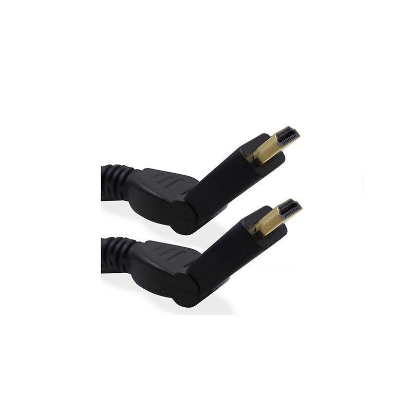 ATACADO: 10 CABO HDMI ROTATION DE 1,8 METROS HARDLINE HLTHDMI1,8R