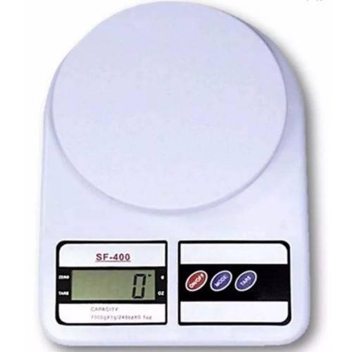 Balança Digital Eletrônica De Precisão Sf-400 Até 5kg Cozinha