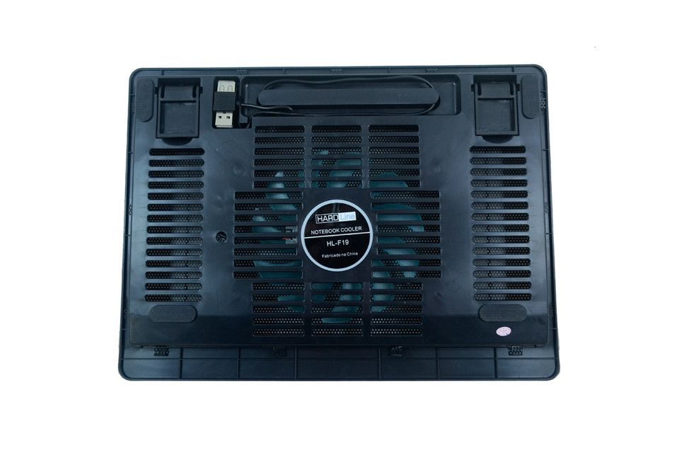 BASE PARA NOTEBOOK COM COOLER HL -F19 HARDLINE - 2100020100