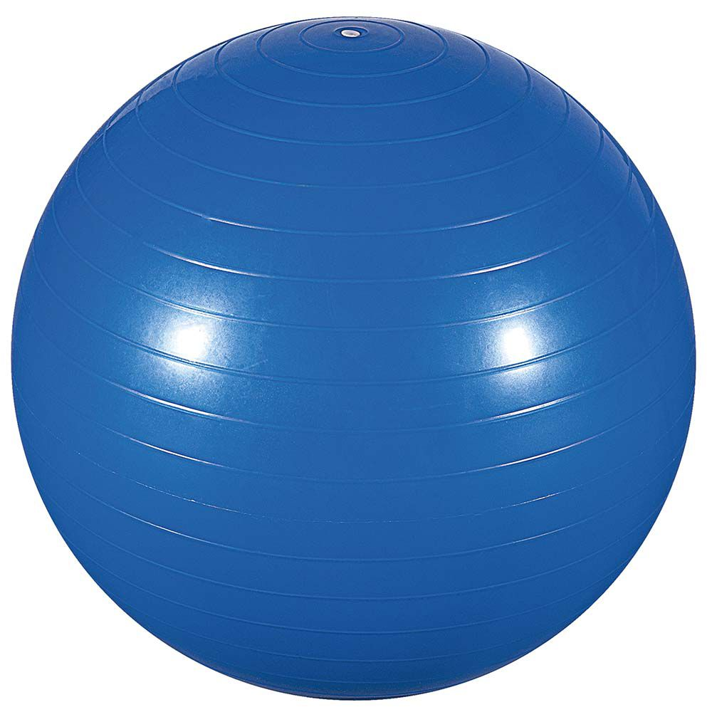 Bola Ginástica Piltes 75cm Azul MOR 40100005