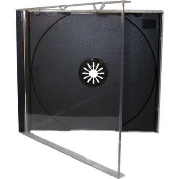 BOX CD ACRILICO PRETO (000172)