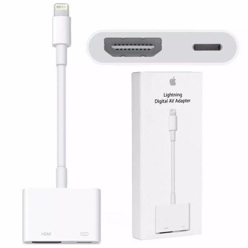 BY-AV ADAPTADOR EXTENSOR LIGHTNING HDMI E CARREGAMENTO PARA IPHONE 7/7S/8/8PLUS/X