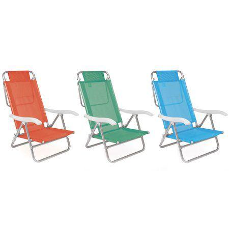 Cadeira Summer Fashion Color MOR 002115 ALUMÍNIO