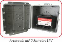 Caixa Hermetica Plus Multitoc 250x250x150mm Multiuso CCCX0095 PRETA