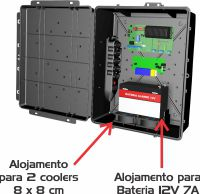 CAIXA MULTIUSO HERMETICA CINZA MASTER 376 x 306 x 140 mm CCCX0080 padrão telecom