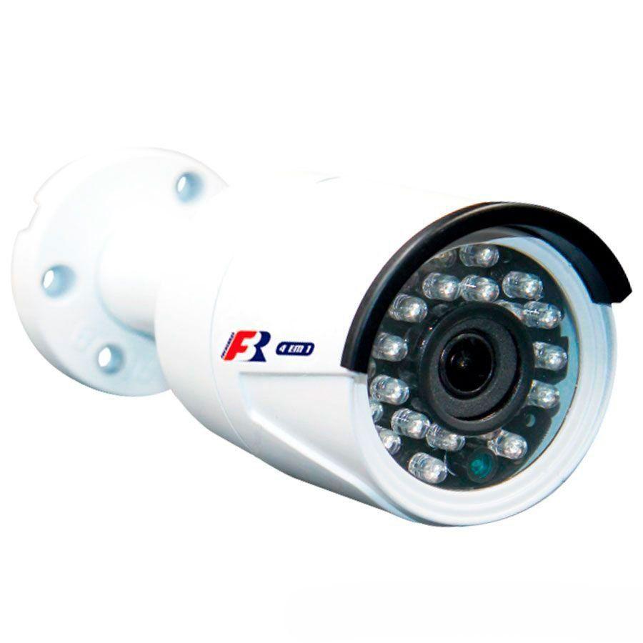Câmera Bullet Full HD 1080p Infravermelho Focusbras FBR FS-MBF2M 3,6mm 25m Visão Noturna - Multi HD: HDCVI + HDTVI + AHD