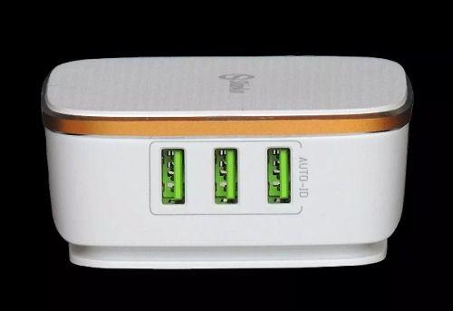 CARREGADOR 6 USB7A 5 AUTO-ID 1 TURBO LDNIO SH-A6704