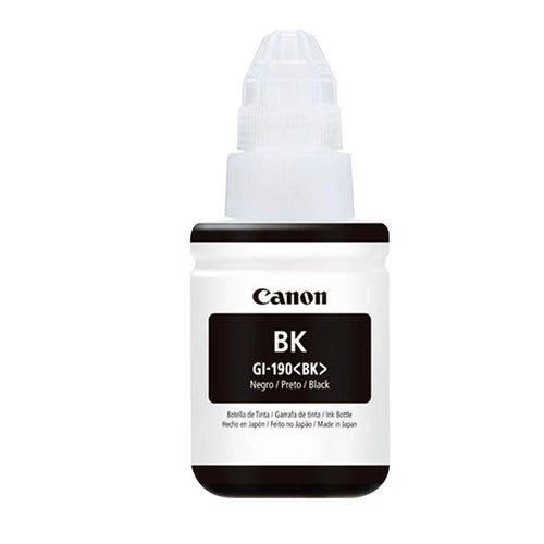 Cartucho Canon Gi-190bk Preto Para Impressora Fotográfica Canon Pixma