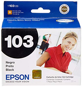 CARTUCHO DE TINTA T103120-AL PRETO 25 ml EPSON