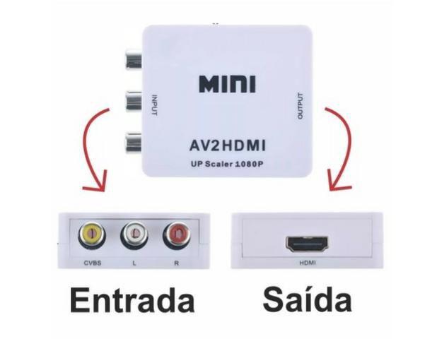 CONVERSOR AV PARA HDMI 1080P REAL