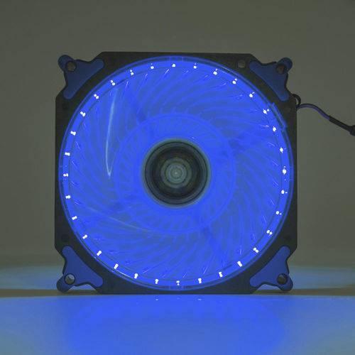 Cooler Fan 120mm 32 Leds Extra Forte Dx-12h Azul