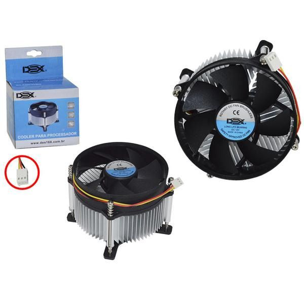Cooler para INTEL socket LGA775 DX-775
