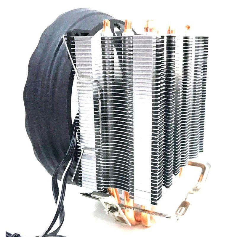 COOLER UNIVERSAL 18 LEDS ARGB 130W PARA PROCESSADOR INTEL E AMD - DEX - DX-2018