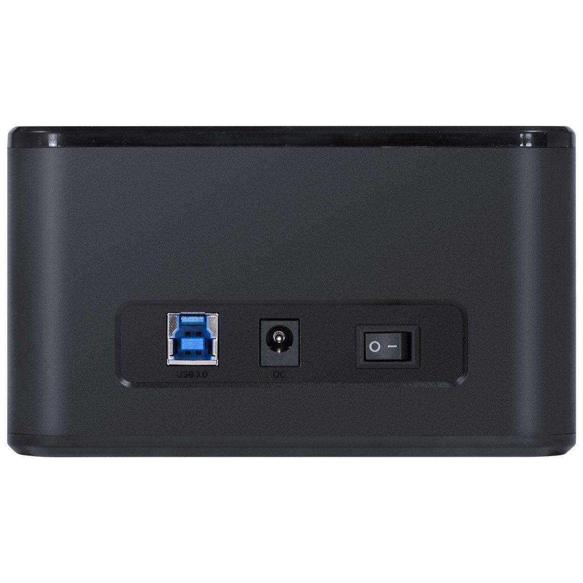 """DUPLICADOR DE HD DOCKING STATION 2.5"""" E 3.5"""" CONEXÃO USB 3.0 PARA SATA - DP35-A30B vinik"""