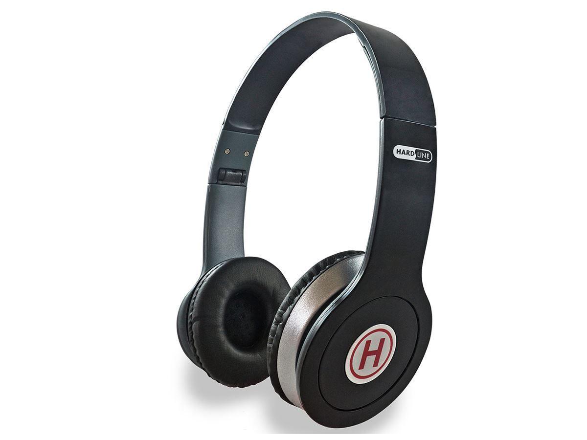 Fone De Ouvido Hardline St-401 Preto Headphone Conector P2