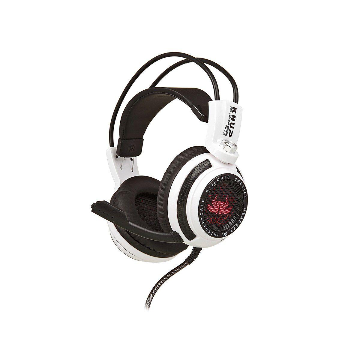 Fone De Ouvido Headset Gamer Knup Kp400 7.1